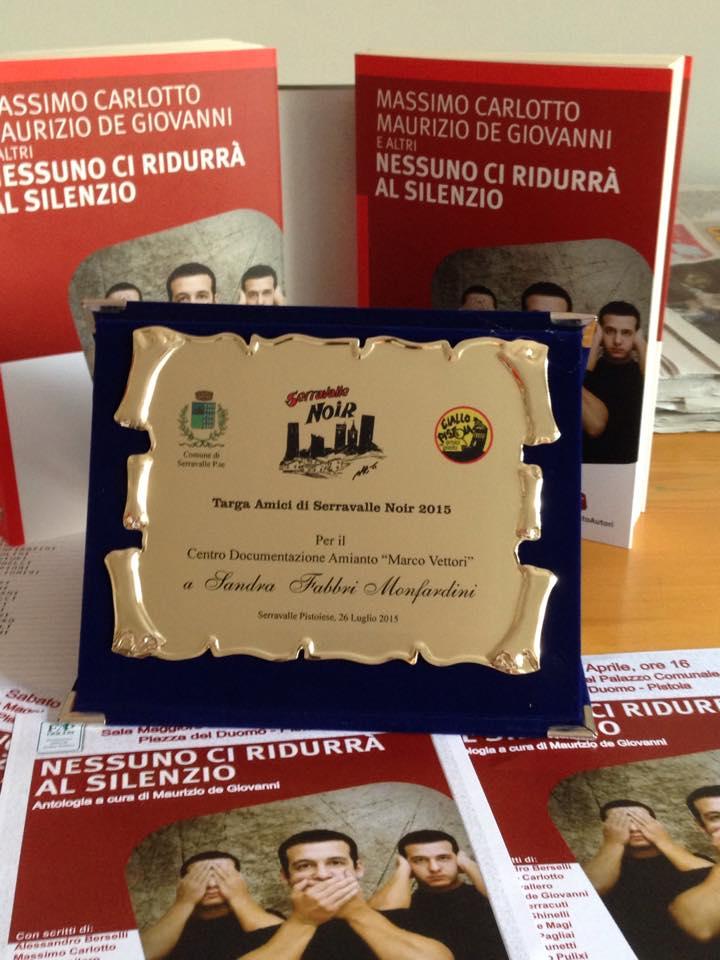 Premiazione Serravalle Noir 2015